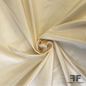 Solid Silk Taffeta - Cream