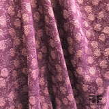 Floral Brocade - Purple/Mauve