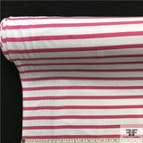 Striped Knit - Pink & White