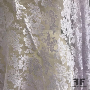 French Chantilly Lace - Light Lavender