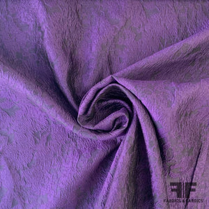 Matelasse Silk Blend - Deep Purple