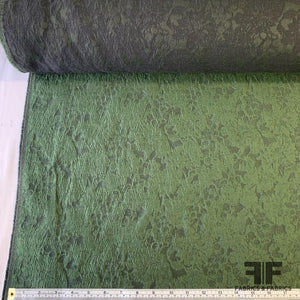 Matelasse Silk Blend - Forest Green