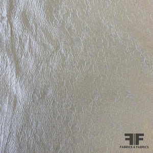 Matelasse Silk Blend - Light Ivory