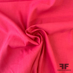 Solid Linen - Hot Pink
