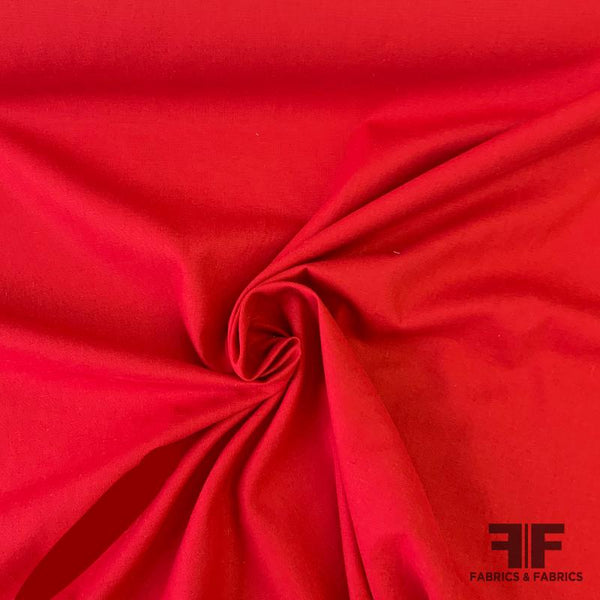 Solid Linen - Crimson
