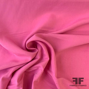 Solid Cotton & Rayon Challis - Bubblegum Pink