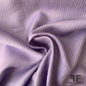 Sheer Shadow Striped Linen - Lavender