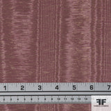 Dusty Rose & Gold French Cotton Blend Novelty fabric