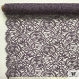 Double Scalloped Leavers Lace - Lavender - Fabrics & Fabrics NY