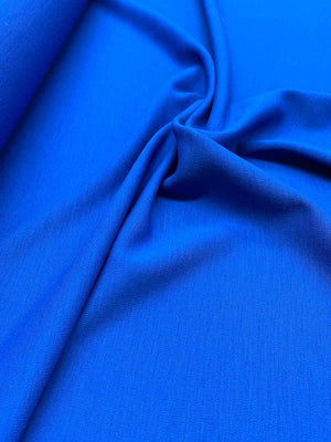 Italian Quality Wool Knit - Royal Blue