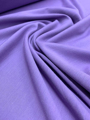 Italian Quality Wool Knit - Lilac