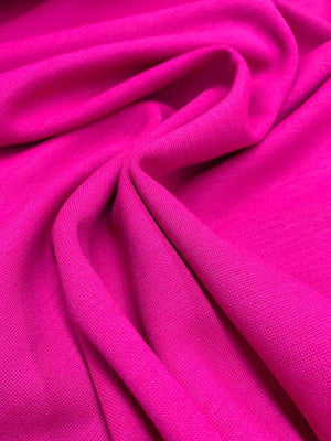 Italian Quality Wool Knit - Magenta