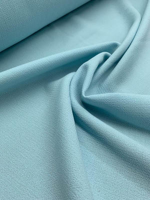 Italian Quality Double Wool Crepe - Powder Blue