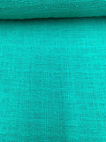 Cotton Tweed Suiting - Bright Seafoam