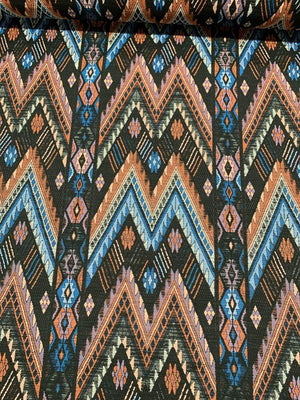 Ethnic Upholstery-Weight Brocade - Multicolor
