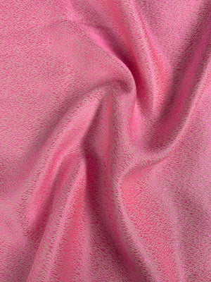 Faint Zig Zag Brocade - Hot Pink