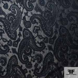 Paisley Brocade - Black
