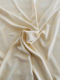 Faint Toile Washed Printed Silk Fuji - Beige-Yellow