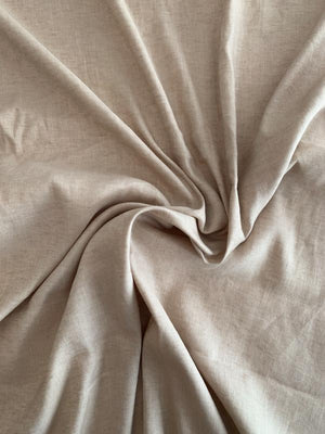 Classic Stretch Linen - Sand