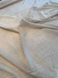 Horizontal Textured Striped Cotton Voile - Tan