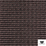 Houndstooth Suiting - Black/Red/White