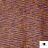 Zig Zag Wool Tweed - Multicolor