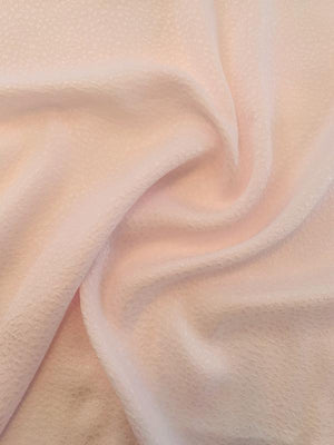Pebble-Look Cloque Silk Jacquard - Blush Pink