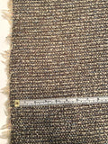 Italian Classic Boucle Tweed Jacketweight Suiting - Cream / Brown / Pastels