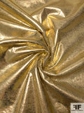Gold Vinyl with Sherpa Backing - Gold