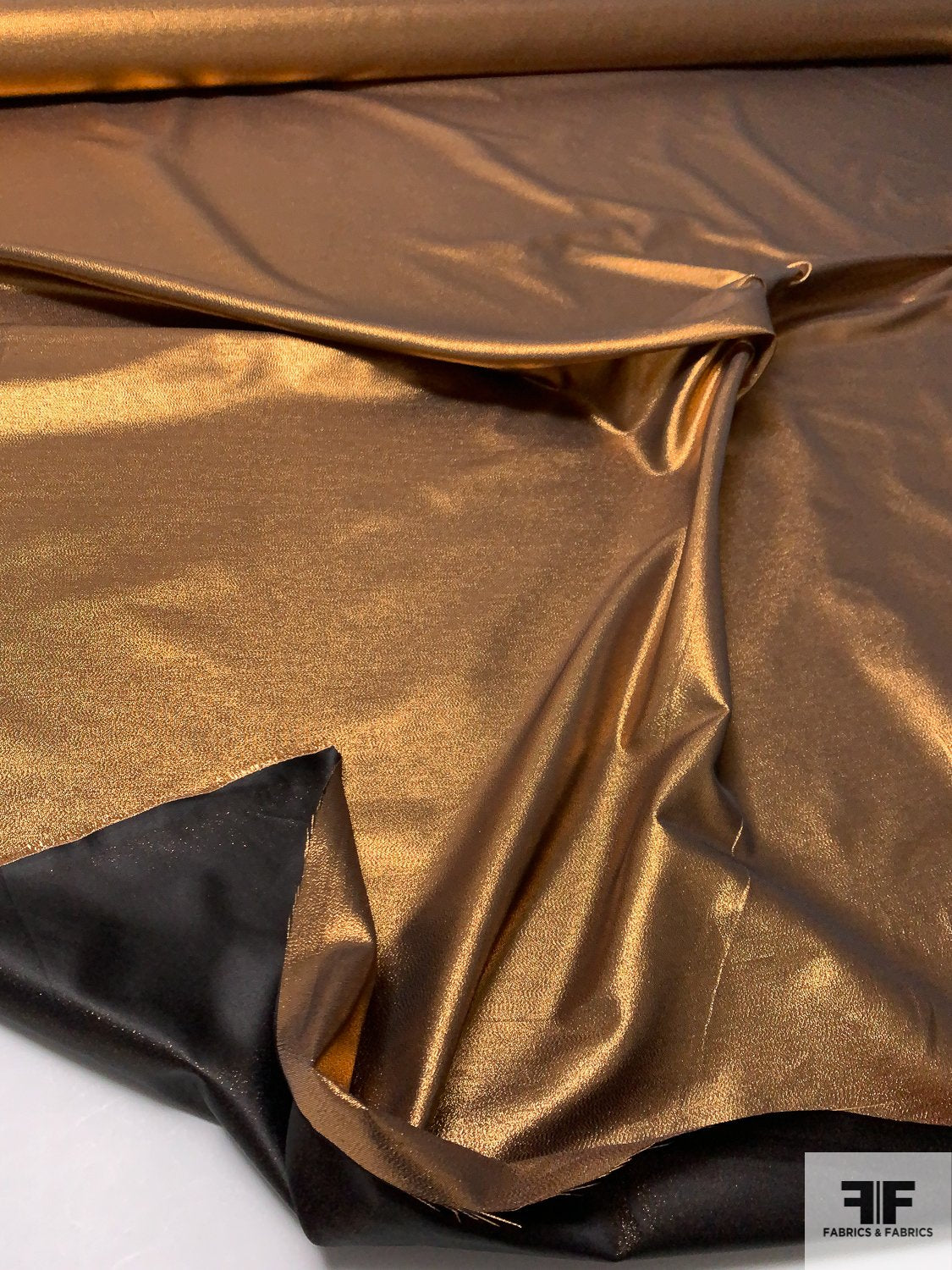 Taffeta-Like Lamé - Light Copper