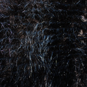 Mink Faux Fur - Black/Brown