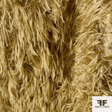Feathery Novelty Silk Blend - Camel - Fabrics & Fabrics NY