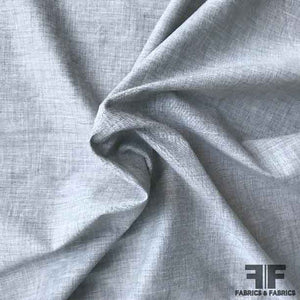Batiste Cotton Shirting - Grey - Fabrics & Fabrics NY