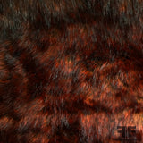 Bold Faux Fur - Black/Red - Fabrics & Fabrics NY