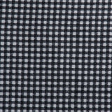 Checkered Raffia Novelty - Black/White - Fabrics & Fabrics NY