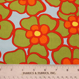 Floral Printed Cotton - Multicolor - Fabrics & Fabrics