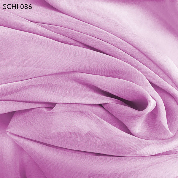 Silk Chiffon - True Purple - Fabrics & Fabrics