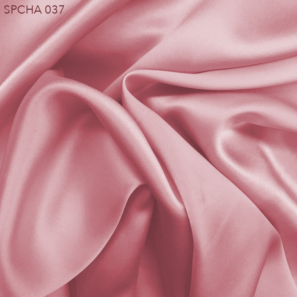 Silk Charmeuse - Dusty Rose - Fabrics & Fabrics