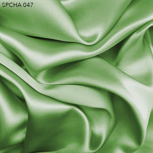 Silk Charmeuse - Patina Green - Fabrics & Fabrics