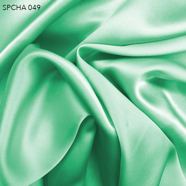 Silk Charmeuse - Mint Green - Fabrics & Fabrics