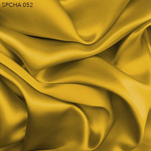 Yellow Silk Charmeuse - Fabrics & Fabrics