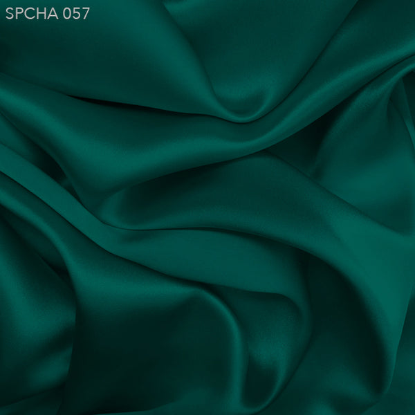 Silk Charmeuse - Deep Teal