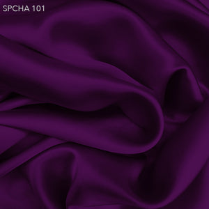 Silk Charmeuse - Electric Purple - Fabrics & Fabrics