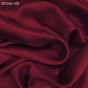 Red Silk Charmeuse - Fabrics & Fabrics