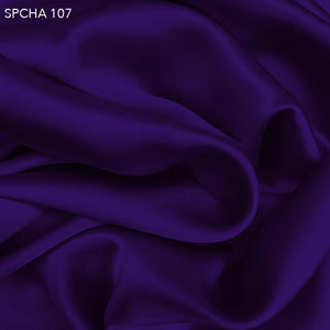 Royal Purple Silk Charmeuse - Fabrics & Fabrics