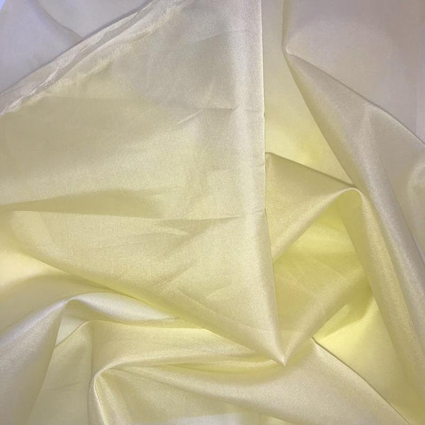 Pineapple Cream Silk Organza fabric  - Fabrics & Fabrics