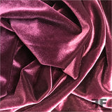 Stretch Velvet - Plum