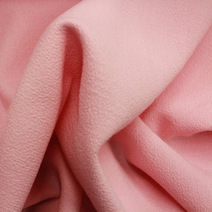 Double-Faced Wool Crepe - Ballet Pink