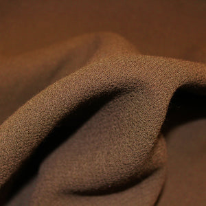 Double-Faced Wool Crepe - Dark Green - Fabrics & Fabrics NY