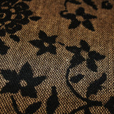 Floral Wool Tweed - Brown